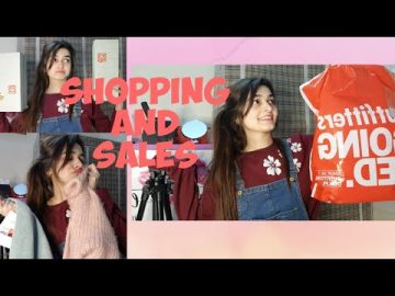 Shopping and Sales | ECS | Outfitters | Vlog 7