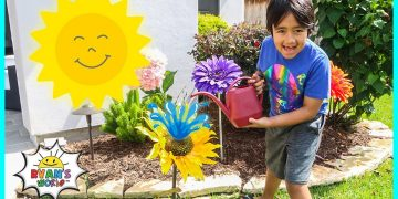 Photosynthesis educational video for kids with Ryan's World!! 9