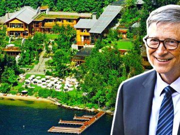 Inside Bill Gates' $127 Million Teched Out Mansion