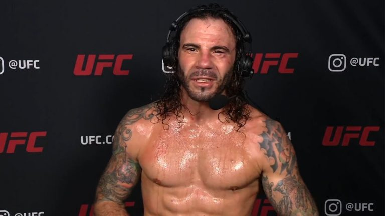 UFC Vegas 18: Clay Guida Interview After Unanimous Decision Win