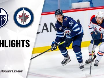 Oilers @ Jets 1/26/21 | NHL Highlights