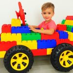 Vlad and Nikita play with Toy Cars - Collection video for kids 1