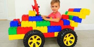 Vlad and Nikita play with Toy Cars - Collection video for kids 14