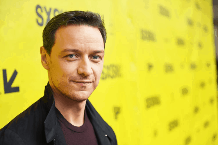 James McAvoy – 5 Feet 7 Inches
