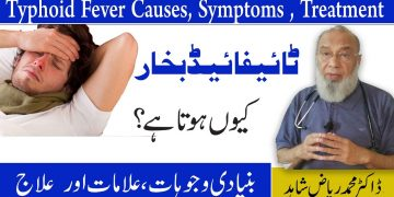 Typhoid Fever Causes,Symptoms And Treatment
