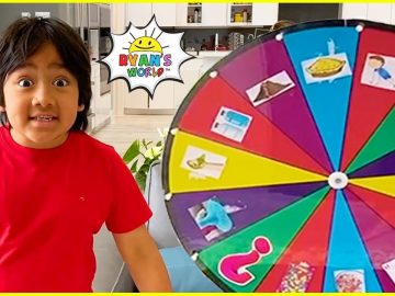 Ryan's Spin the Mystery Wheel Challenge and more 1 hr fun kids activities! 24