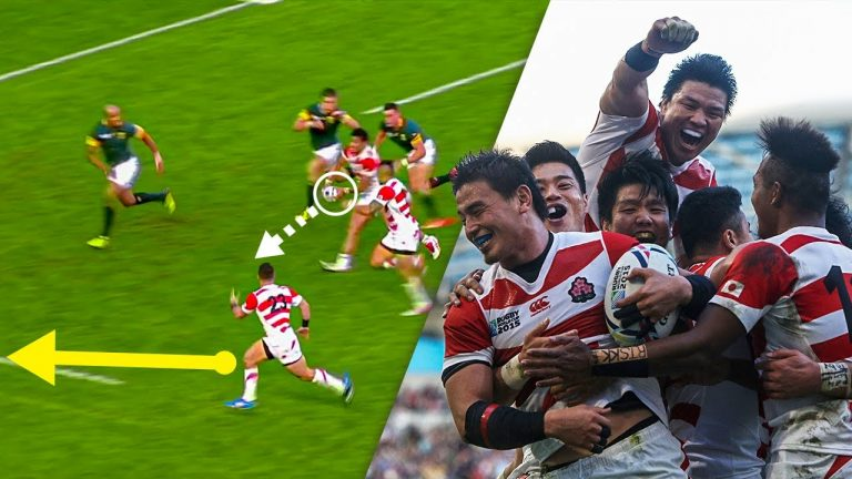 Japan's MIRACLE Try! #SHORTS