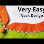 Very Easy Kurti Front Neck Design Cutting and Stitching   New Neck Design   Beginners 3
