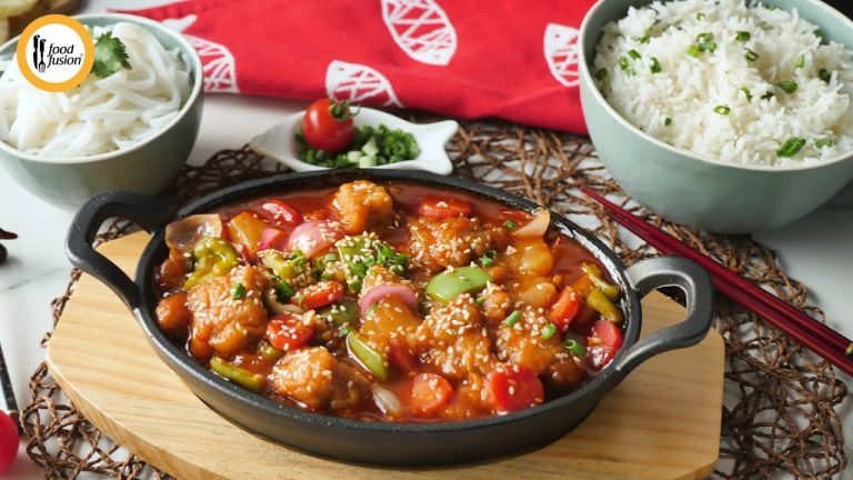 Sweet & Sour Fish Recipe By Food Fusion