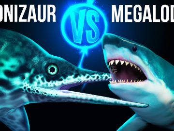 Megalodon vs Biggest Sea Dinosaur in Ultimate Showdown