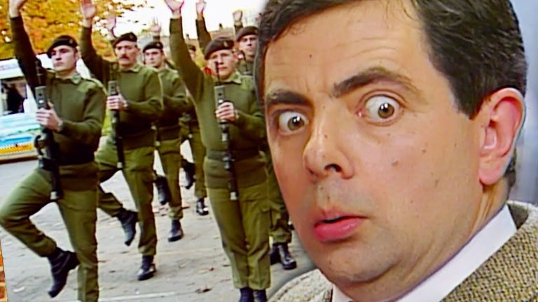 Bean ARMY   Funny Clips   Mr Bean Comedy