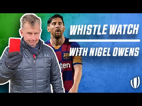 Nigel Owens to referee football?! HILARIOUS Q&A | Whistle Watch