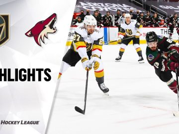 Golden Knights @ Coyotes 1/22/21 | NHL Highlights