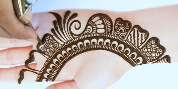 Latest Simple Mehndi Design for Front Hand | Full hand Mehndi Designs | Bridal Mehndi Design 2021 14