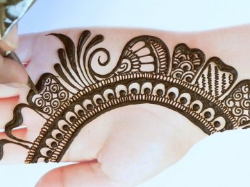 Latest Simple Mehndi Design for Front Hand | Full hand Mehndi Designs | Bridal Mehndi Design 2021 15