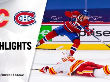 Flames @ Canadiens 1/28/21 | NHL Highlights