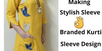 Easy Sleeve Design For Kurti//Sleeves Designs//Easy Method 12