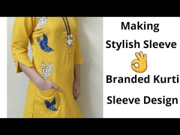 Easy Sleeve Design For Kurti//Sleeves Designs//Easy Method 10