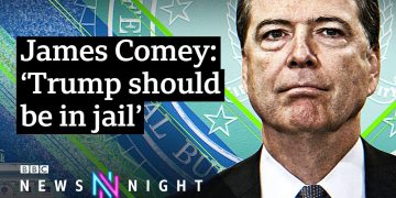 Ex-FBI Director James Comey on Trump's impeachment and further violence to come - BBC Newsnight