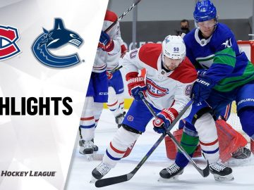 Canadiens @ Canucks 1/23/21 | NHL Highlights