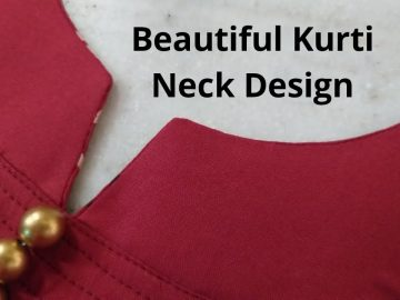 KURTI FRONT NECK DESIGN EASY CUTTING AND STITCHING/NEW NECK DESIGN@RR Fashion Point 9