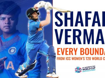 Every Shafali Verma boundary from the ICC Women's T20 World Cup 2020