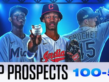 MLB's Top 100 Prospects for 2021! (100-51) | Garrett Crochet, Jazz Chisholm and more!