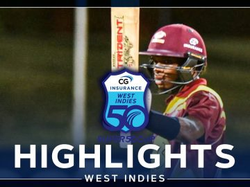 Highlights | Leeward Islands vs Barbados | Classy Carty Ton in Epic Chase | CG Insurance Super50 Cup