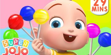[New Music Version] The Colors Song | Colors For Kids + Nursery Rhymes & Kids Songs - Super JoJo 10