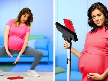 COOL PREGNANCY HACKS FOR MOMS #shorts