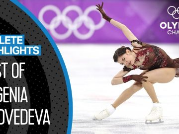 Evgenia Medvedeva 🇷🇺 Two-Time Olympic Silver Medallist | Athlete Highlights 3