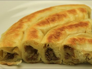 Turkish Potatoes Rolled Borek Recipe Without Oven