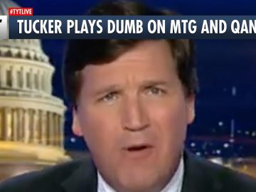"Tucker Carlson: ""BUZZ OFF Shill"""