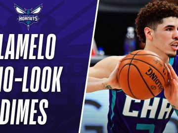 LaMelo's BEST No-Look Assists 👀 | #NBARooks 3