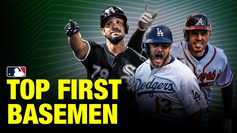 Top 10 First Basemen in MLB | 2021 Top Players