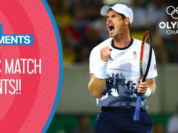 Every Men's Singles Match Point at the Olympics! | Top Moments