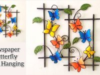 DIY Wall Hanging Craft Ideas | Newspaper Wall Decoration Ideas | Home Decoration | Room Decoration