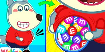 What's in Pregnant Belly? - Wolfoo and Funny Stories for Kids | Wolfoo Family Kids Cartoon 8