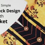 Simple & Easy Kurti Neck Design with Placket /Beginners/DIY 3