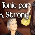 Natural Hair Tonic for Thick Strong Hair / Home Remedy for Hair Loss - Ghazal Siddique