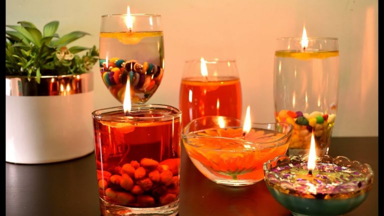 Water Candles | Valentine Decoration Ideas | Floating Candles| DIY Home Decor |