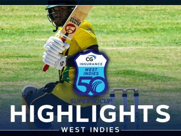 Highlights | Windward Islands v Jamaica | Cottoy Continues Form! | CG Insurance Super50 Cup