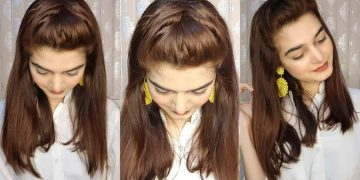 Criss Cross Summer Hairstyle || Quick Styling In Just 2 mins 15