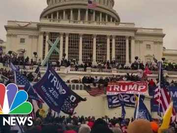 House Impeachment Managers Play Video Of Capitol Riot During Impeachment Trial | NBC News