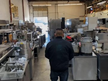 Restaurant closures produce glut of used equipment