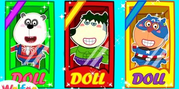 Wolfoo Becomes a Doll - Funny Stories About Toys for Kids | Wolfoo Channel Kids Cartoon 5