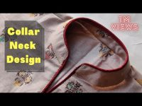 Collar Kurti Front Neck Design Cutting and Stitching || Collar Neck Design 18
