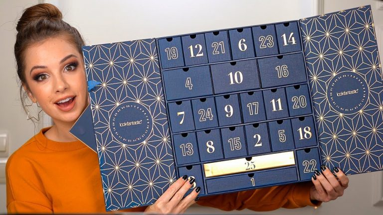 FUN ADVENT CALENDAR UNBOXING (Worth Over £420)
