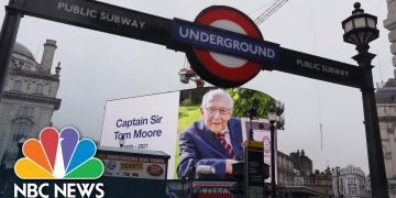 Britain Mourns Passing Of Captain Sir Tom Moore | NBC News NOW