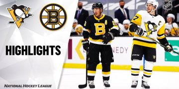 Penguins @ Bruins 1/26/21 | NHL Highlights